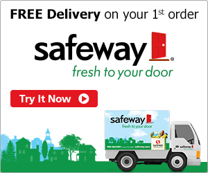 Free Delivery on 1st Order - Safeway